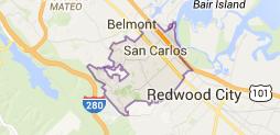 San Carlos Map - Real Estate Catherine Hendricks