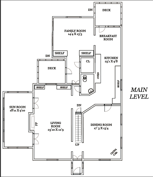 208 W Walnut St - Interactive Floorplan Tour