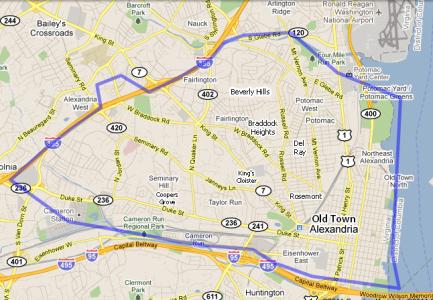 Map - City of Alexandria