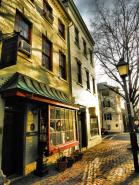 Old Town Alexandria Storefronts on Fairfax Street