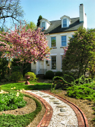 Old Town Alexandria Home in Springtime