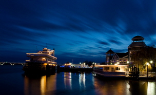 Old Town Alexandria Waterfront & Chart House Restaurant