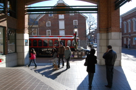 Old Town Alexandria King Street Trolley