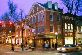 Old Town Alexandria Shopping at King & Washington Streets