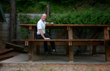 Giant Picnic Table