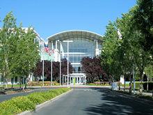 Description: http://upload.wikimedia.org/wikipedia/commons/thumb/c/c8/Applecomputerheadquarters.jpg/220px-Applecomputerheadquarters.jpg