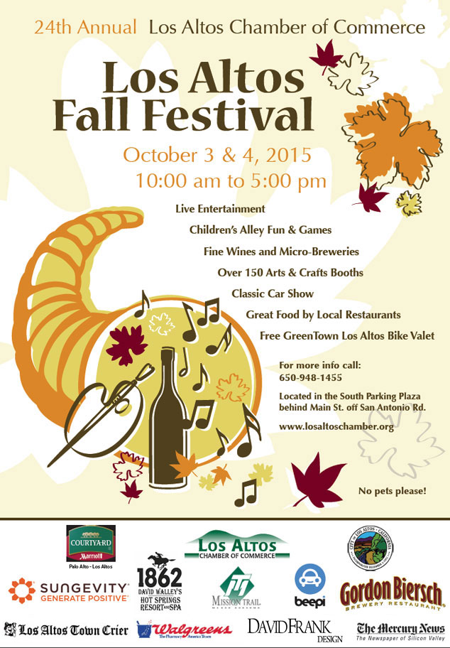 24th Annual Los Altos Fall Festival