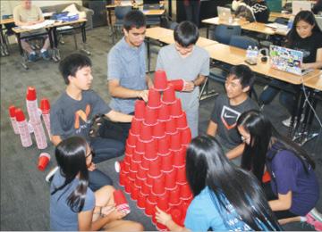 Los Altos High Students Hosts a Hackathon