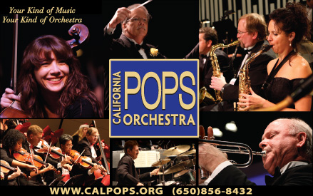 Los Altos Hills' Foothill College to Host the Cal Pops Orchestra Performance