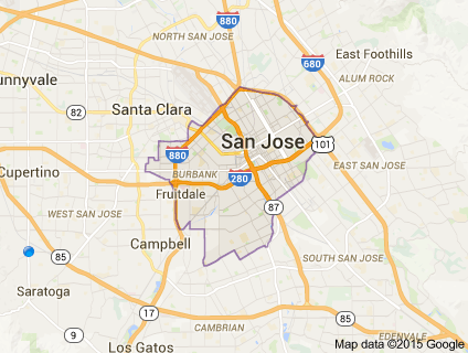 Community Information - San jose crime rate map